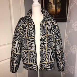 Silk Bomber Fuda International Oversized Jacket S